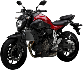 Location moto yamaha mt07